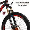 Love Freedom 24 speed 26 inch mountain bike bicycles double disc brakes student bike Bicicleta road bike Free Delivery 6