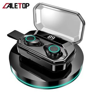 Image 1 - עדכון חדש G02 TWS 5.0 Bluetooth 9D סטריאו אוזניות אלחוטי אוזניות IPX7 עמיד למים אוזניות 3300mAh LED חכם כוח בנק