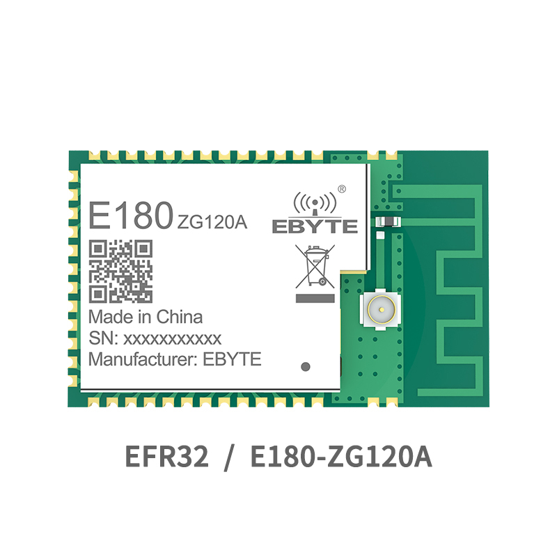 ZigBee 3.0 EFR32MG1B 2.4GHz Module 20dBm Wireless Transceiver Long Range E180-ZG120A IO Port PCB IPEX 32-bit ARM Cortex -M4 PA