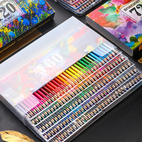 160 Colors Professional Drawing Oil Colored Pencils Set Artist Sketching Painting Wooden Color Pencil School Art Supplies