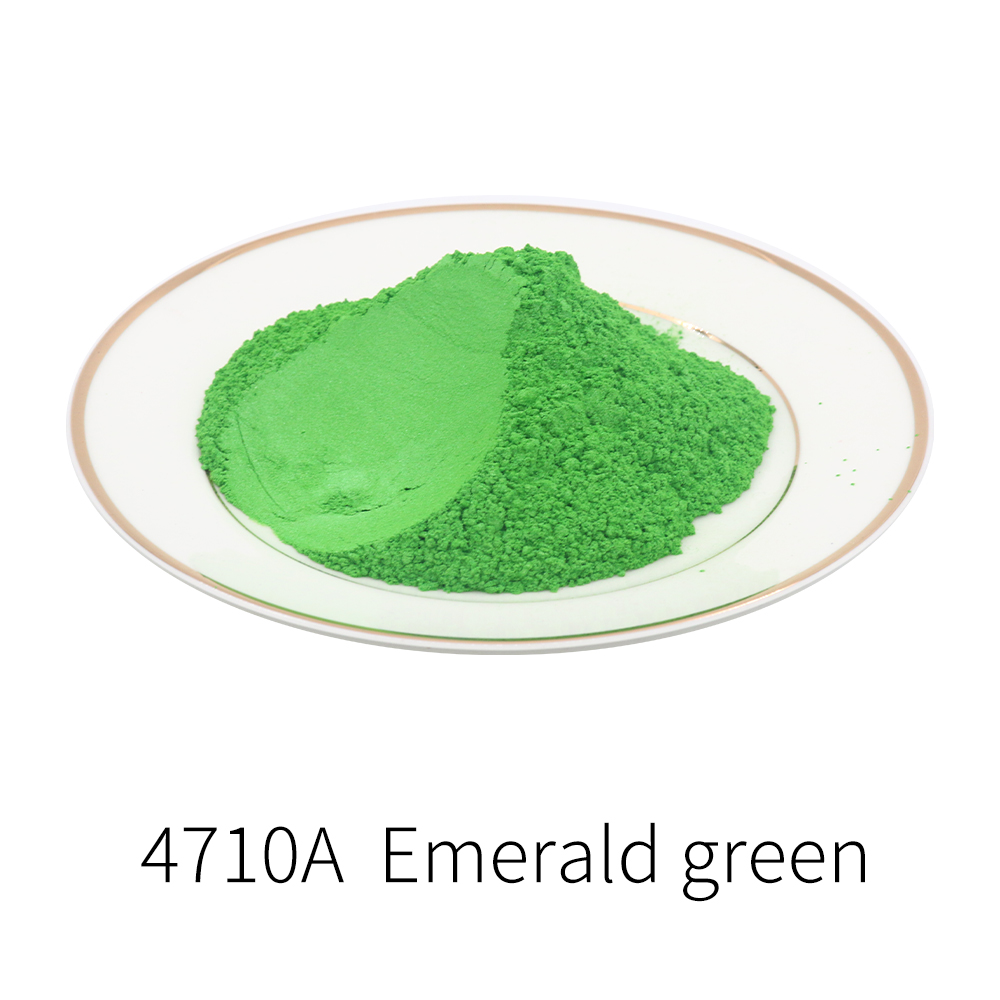 Pearl Powder Acrylic Paint Type 4710A Emerald Green Pigment In DIY Dye Colorant Soap Car Art Craft 50g Mineral Mica Pearl Powder