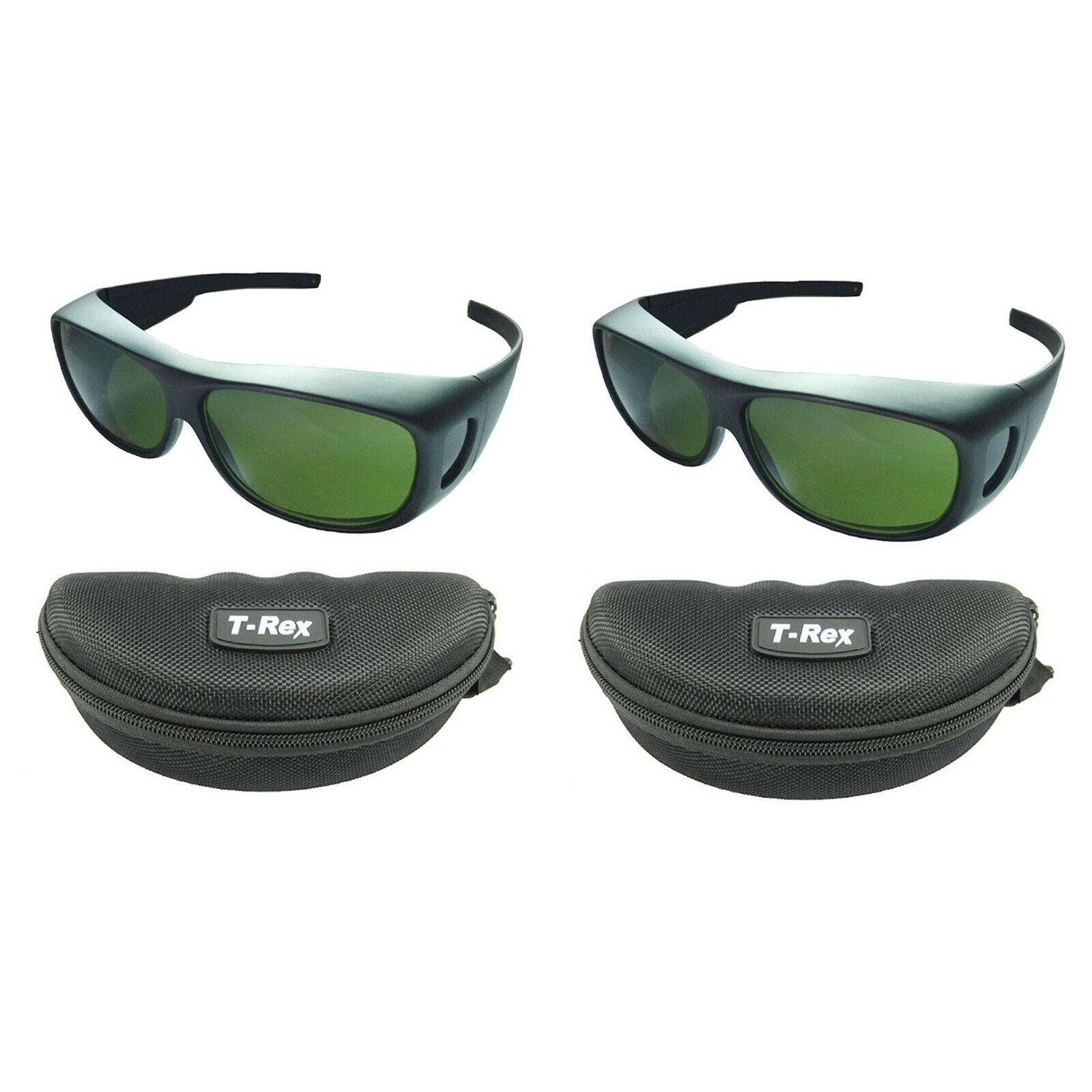 Işıklar ve Aydınlatma'ten Sahne Aydınlatması Efekti'de 2 adet IPL CE 200nm 2000nm Lazer Koruma güvenlik gözlükleri Gözlük OD5 + CE UV400 title=