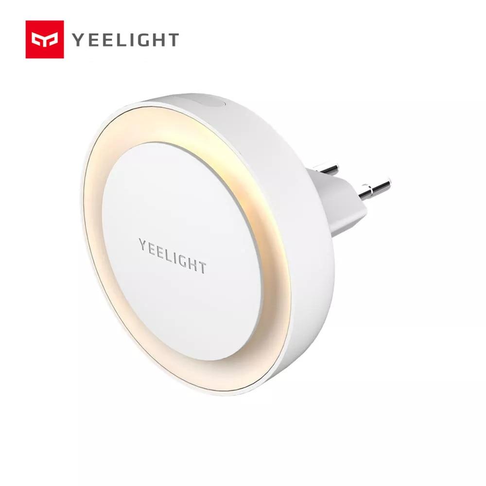 Internatinal Veision Yeelight YLYD11YL Light Sensor Plug-in LED Night Light Ultra-Low Power Consumption EU / UK Plug