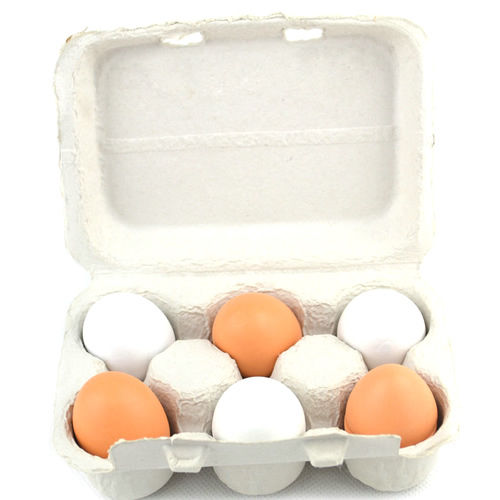 2019 Brand New 6PCS/Packet Baby Kids Pretend Play Preschool Educational Toy Wooden Eggs Yolk Kitchen Cooking Baby Kids Toy Gifts