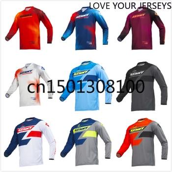Novedad de 2020, camiseta para Moto MX, de secado rápido, de corte rápido, para Motocross, BMX, DH, MTB, ropa, camiseta de manga larga, transpirable, FXR, DH, MTB