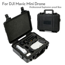 For DJI MAVIC Mini Drone Professional Explosion-proof Box Waterproof Hardshell Handbag Portable Protecting Carrying Case цена 2017