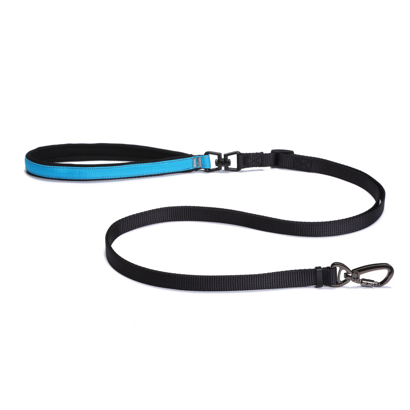 Midepet Multi-functional Adjustable Length Comfortable Handle Pet Traction Rope Medium Large Dog Hand Holding Rope