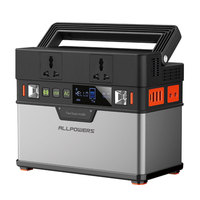Portable Power Station 110V 220V Power Bank Portable Generator for Car Refrigerator TV Drone Laptop Phones Car Battery Projector