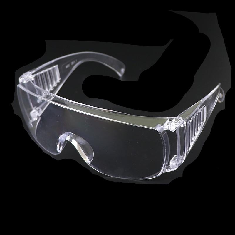 1pcs Transparent Safety Glasses, Anti-fog Glasses, Protective Glasses Against Harmful Liquid Splash,Exit Protective Glasses