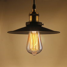 Retro Loft Vintage Pendant Lamp light E27 LED bulbs Indoor Decoration Lighting Northern Europe Industrial Warehouse Style Edison