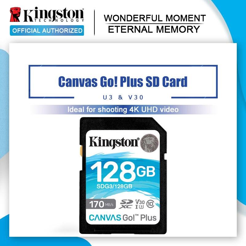 Kingston-tarjeta SD 256gb de 128gb