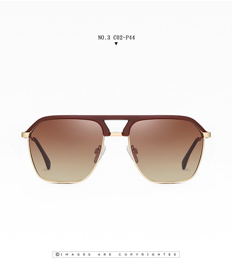 Classic Pilot Polarized Sunglasses Men Coating Mirror Sport Retro Sun Glasses Men Ride Travel Driving Fishing Eyewear Male UV400 (14)