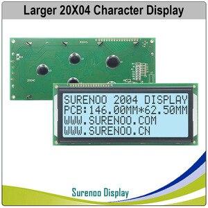 Image 4 - Grotere 204 20X4 2004 Karakter Lcd Module Display Screen Lcm Blauw Geel Groen Met Led Backlight
