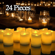 LED Candles Lighting Lamp Battery-Powered Birthday-Party-Decoration Flameless Creative