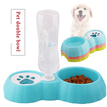 Pet Cat dog Feeder Bowls Water Dispenser for Dogs Small Large Dog Puppy Automatic Cat Drinking Bowl Dispenser Feeder Pet Product 2020 new pet automatic feeder dog cat drinking bowl for dog water drinking cat feeding large capacity dispenser pet cat dog