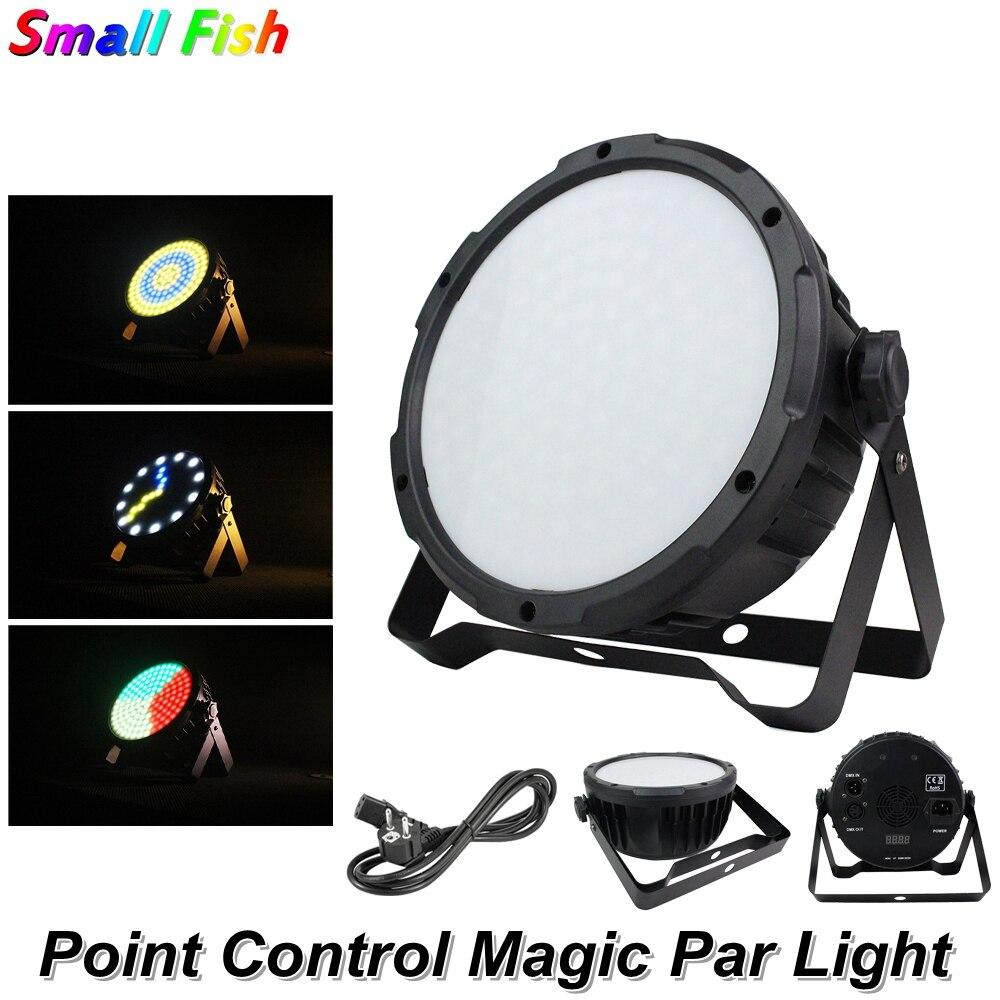 4Pcs/Lot LED Point Control Magic Par Light 127pcs 5050 RGB 3IN1 LED DMX For Disco DJ Projector Machine Party Stage Decoration|Stage Lighting Effect| |  - title=