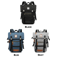 OZUKO Brand Fashion Belt Men Backpack Laptop Casual Large Capacity Travel Multifunction Backpacks
