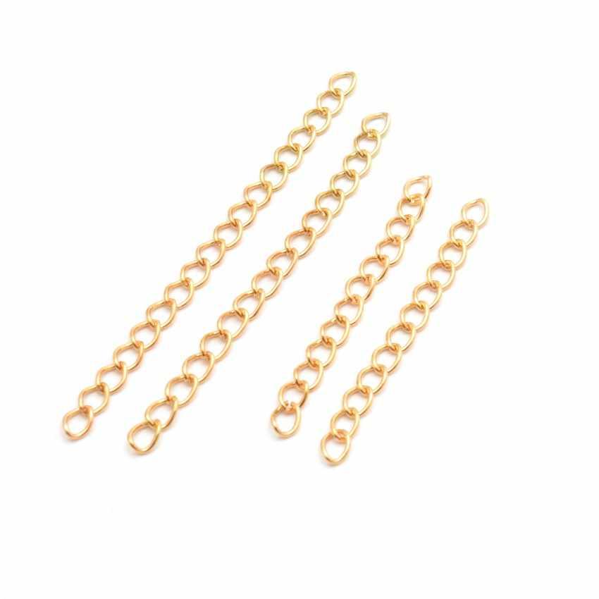 MIAOCHI joyería hallazgos collar extensor pulsera extensor extensión colas DIY artesanía joyería encontrar conectores