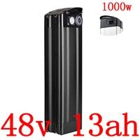 48V 13AH Electric Bike Battery 48V 10AH 12.5AH 13AH 15AH 16AH lithium Battery fit 48V 500W 750W 1000W Ebike motor+2A Charger