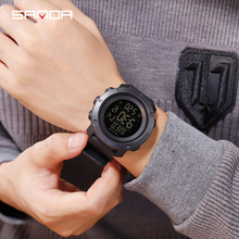 Fashion Digital Watch Military Outdoor Sport Waterproof Shockproof Men 3D Design Double LCD Display Electronic