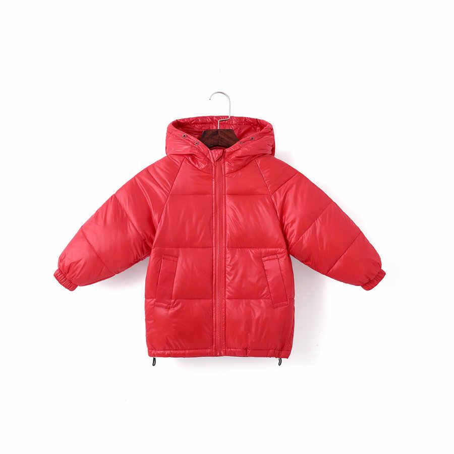 2020 novo pato branco para baixo jaqueta para meninos 3-9 anos moda verde crianças outerwear casual vermelho sólido ultra leve casaco para meninas