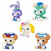 3D building block particle assembly creative puzzle building block children's plastic toy boy girl jigsaw puzzle toy gift