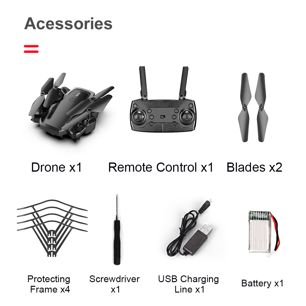 F85 4K Wifi Folding drone HD aerial camera quadcopter fixed height remote  control aircraft toys for children with storage bag|RC Airplanes| -  AliExpress
