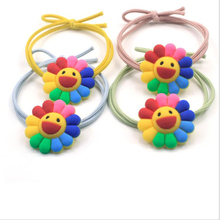 2019 New Head Rope Multicolor Sunflower Smiley Flower Girl Cute Korea Banquet Party Decoration