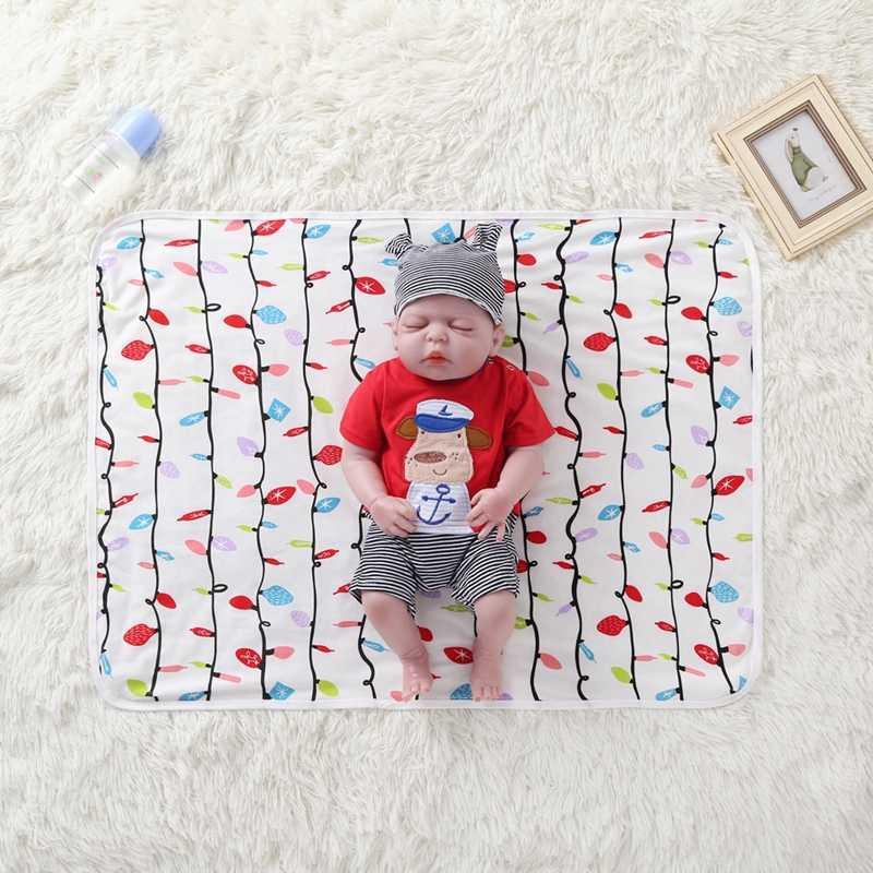 Nueva sábana de cama para bebé recién nacido, juego de cama con estampado Floral de estrella para bebé, sábanas de cuna para recién nacido, manta de algodón con estampado de 100%