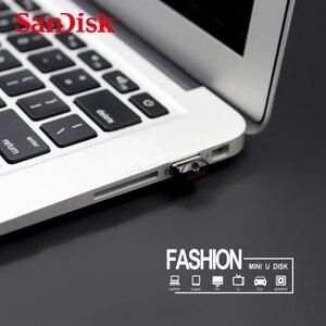 Image 5 - 100% Original SanDisk Cruzer Fit แฟลชไดรฟ์ USB SD CZ33 64GB 32 GB 16GB 8GB Mini ปากกาไดรฟ์ USB 2.0 สนับสนุนการตรวจสอบอย่างเป็นทางการ