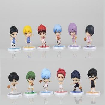 2 styl 6 sztuk zestaw 7cm Anime figurka Kuroko #8217 s koszykówka Kuroko Tetsuya Hyuga Junpei Aida Riko Model z pcv kolekcja zabawka nowy tanie i dobre opinie LELAKAYA CN (pochodzenie) Unisex Other NONE PIERWSZA EDYCJA 2-4 lata Wyroby gotowe 17102301--25-48 Japonia Produkty na stanie