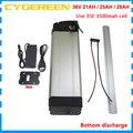 500 Вт 36В батарея для электрического велосипеда 1000 Вт 36В 25ач литий-ионная Серебряная рыба ebike bateria использование 3500 мАч 18650 батарея 30A BMS 2A заряд...