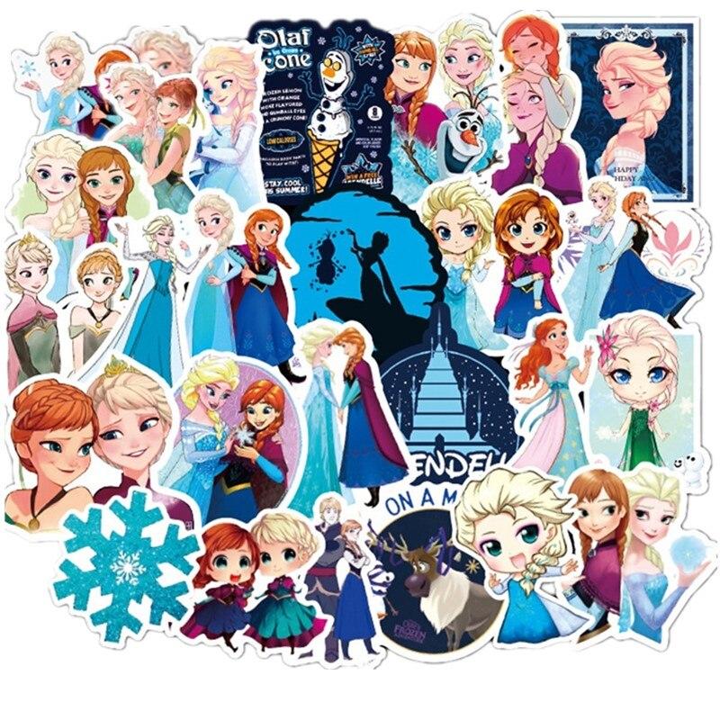 100 Frozen Disney Congelado Princesa Sophia Adesivos Graffiti Em