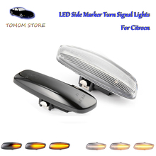 цена на led dynamic indicator side turn signal ligths for Citroen C3 C4 C4 Coupe C4 Picasso C5 DS3 DS4 auto led accessory