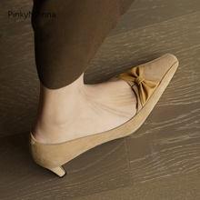 2021 Весна Неделя моды для женщин из натуральной кожи; Туфли