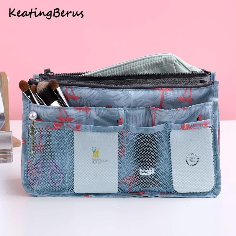 Women Make Up Bag Portable Storage Handbag Toiletries Toiletry Kit Travel Organizer Cosmetic Bag