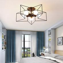 Nowoczesny ze złota gwiazda lampy sufitowe oświetlenie sufitowe Led kuchnia lampy wiszące do salonu sypialnia Loft lampa ozdobna oprawy tanie tanio NoEnName_Null CN (pochodzenie)