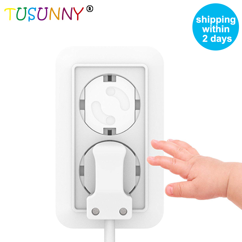 TUSUNNY 10pcs EU Power Outlet Baby Safety Protection Of Socket From Children Plugs For Socket French Electric Socket Cover