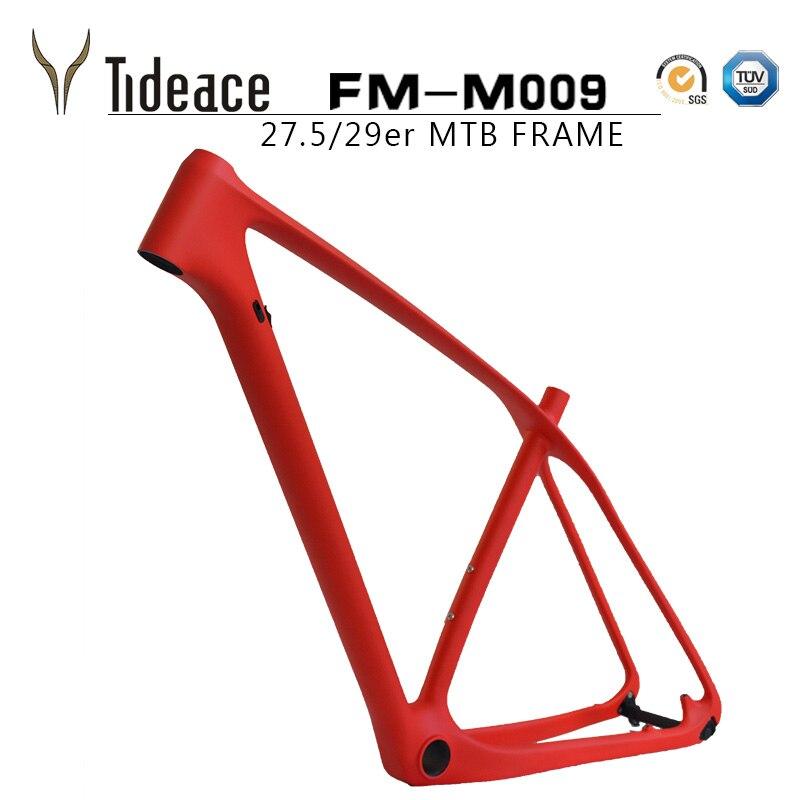Tideace UD Chameleon 29er carbon frame Chinese MTB carbon frame 27 5 carbon mountain bike frame