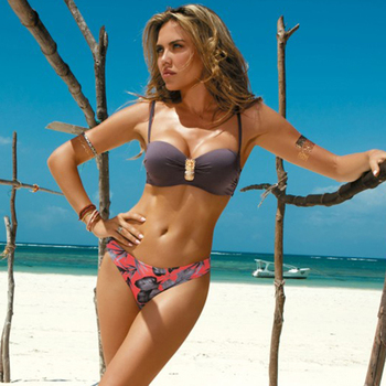Bikini Sexy Frauen Bademode Push Up Badeanzug Strand Sommer  1