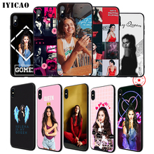 IYICAO Selena Gomez Soft Phone Case for iPhone 11 Pro XR X XS Max 6 6S 7 8 Plus 5 5S SE Silicone TPU