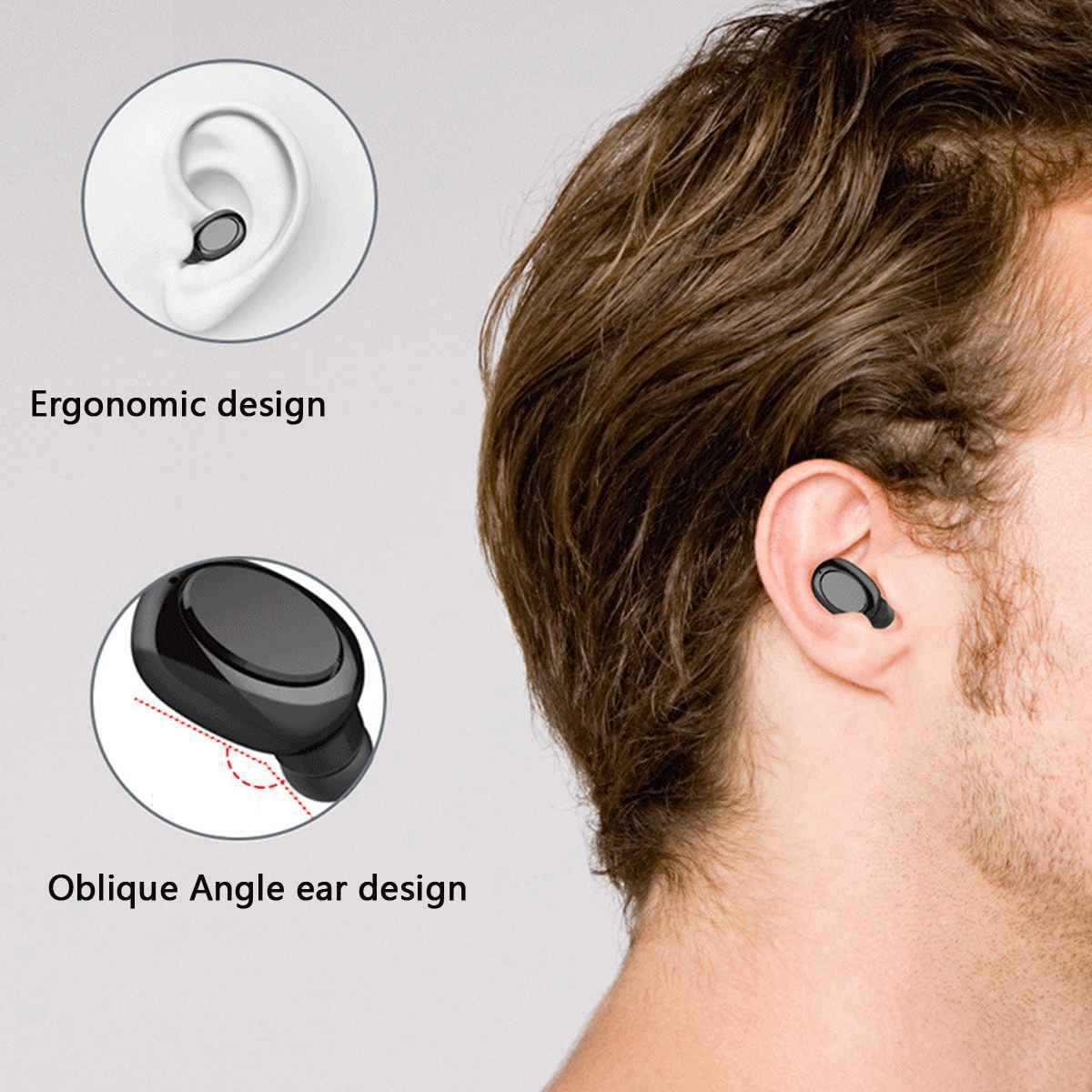 Pantalla LED Tws auriculares bluetooth Mini auriculares inalámbricos deporte manos libres auriculares inalámbricos con caja de carga