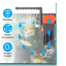 10/15w High-quality Mini Aquarium Silent Filter Water Circulating Pump 3 In 1 Fish Tank Submersible Air Oxygen Pump high quality water circulating multi purpose vacuum pump air drawing rate 10l min