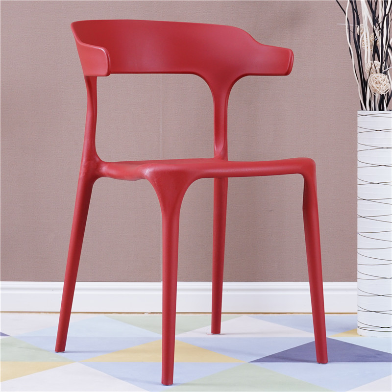 Chair Simple Home Dining Chair Plastic Horns Chair Stool Nordic Net Red Book Ins Table And Chairs Leisure Table And Chairs
