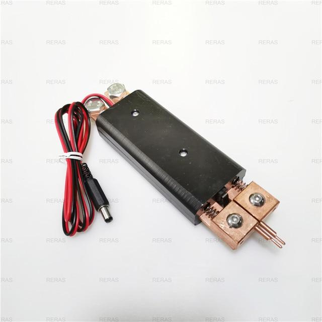 Integrated hand held spot welding pen Automatic trigger Built in switch one hand operation spot welder welding machine