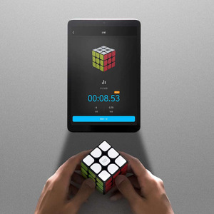 Image 4 - Original XIAOMI Original Bluetooth Magic Cube Smart Gateway Linkage 3x3x3 Square Magnetic Cube Puzzle Science Education Toy Gift