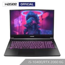 Hasee TX8-CU5DK Laptop für Gaming(Intel Core I5-10400 + RTX2060/16GB RAM/256SSD + 1T HDD/16.1