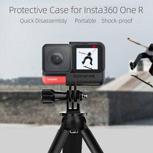 Image 2 - Insta360 واحد R الإفراج السريع الإطار Vlog قفص بانورامية 4K لايكا كاميرا حماية الحال بالنسبة Insta360 واحد R كاميرات الملحقات