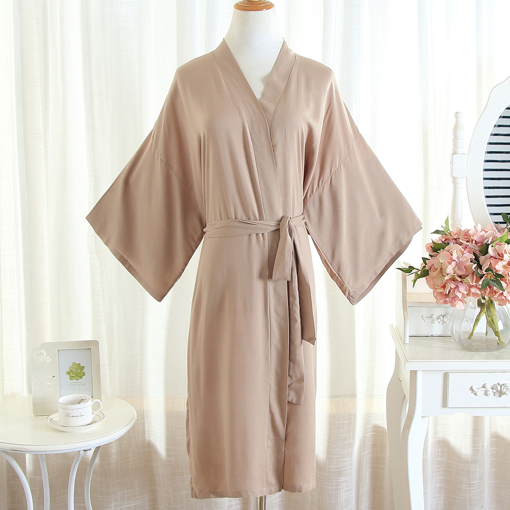 Soft Cotton Kimono Gown Robe Casual Unisex Bathrobe Gown Solid Sleepwear Nightgown Sexy Belt Home Clothes Intimate Lingerie