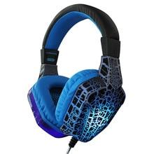 Cross Border for Jiahe CT-820 Crack Luminous Headphones Bass Headset Game